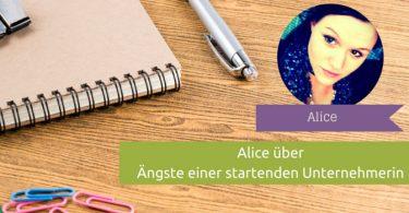 Kolumne: Alice, selbstständige Sidepreneurin