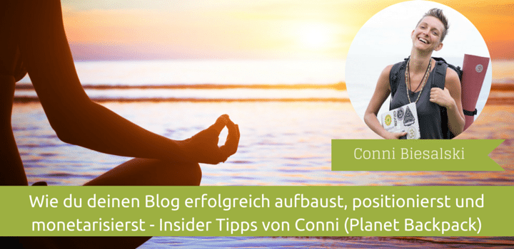 Blogaufbau-Conni