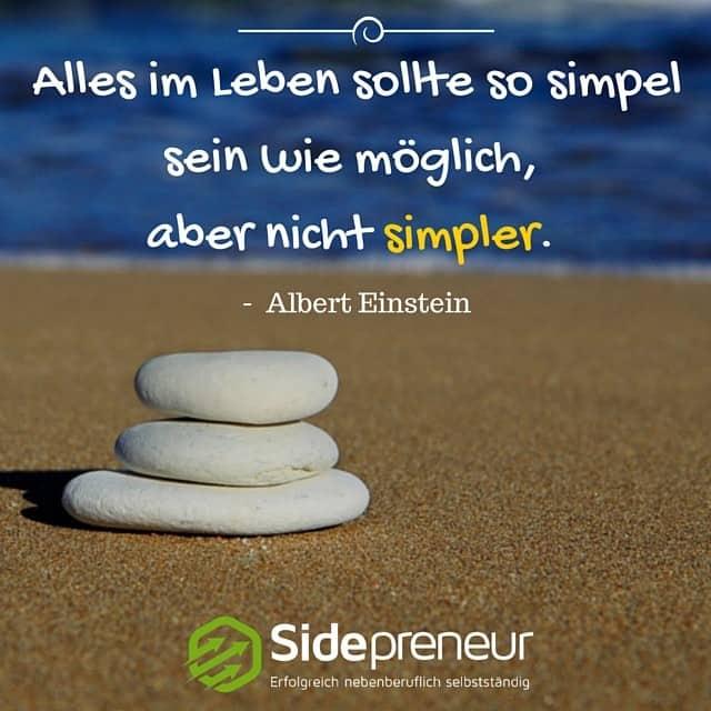 Mm 31 Einfachheit Bringt Den Erfolg Sidepreneur