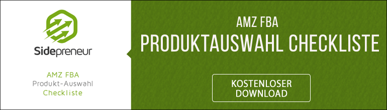 Amazon FBA Produktauswahl Checkliste