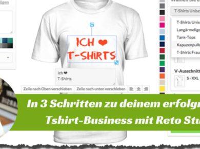 Als Sidepreneur im T-Shirt Business zum Erfolg - Ein Beispiel von Retro Stuber