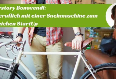 Die Story der ReCommerce-Suchmaschine Bonavendi