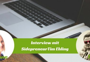 Interview mit Sidepreneur Tim Ehling