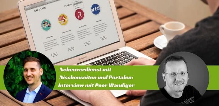 Nebenverdienst mit Nischenseiten: Interview mit Peer Wandiger