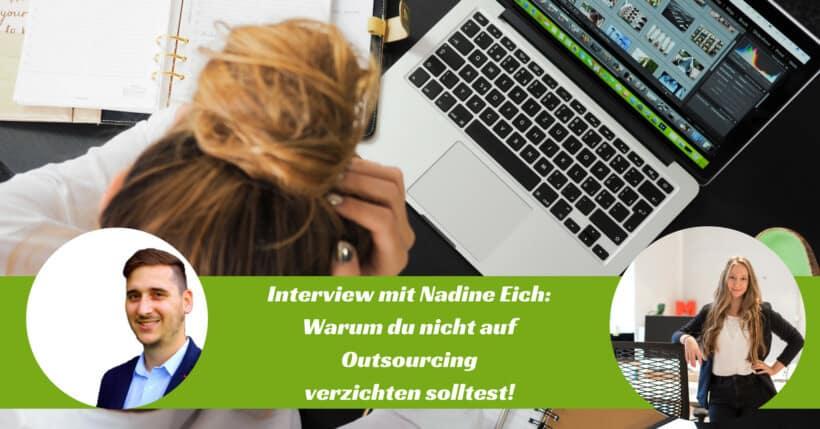 Outsourcing Interview mit Nadine Eich von enida