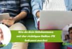 Online-PR für Sidepreneure und ihr Sidebusiness